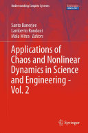Pdf Applications of Chaos and Nonlinear Dynamics in Science and Engineering - Telecharger