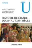 Pdf Histoire de l'Italie du XVe au XVIIIe siècle Telecharger