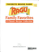 Favorite Brand Name Ragú Family Favorites