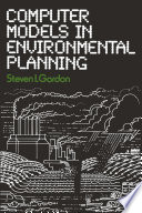Computer Models In Environmental Planning