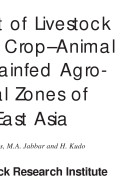 Improvement of Livestock Production in Crop-animal Systems in Rainfed Agro-ecological Zones of South-East Asia