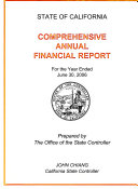 Comprehensive Annual Financial Report for Fiscal Year Ended