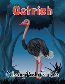 Ostrich Coloring Book for Kids