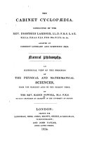 An Historical View of the Progress of the Physical and Mathematical Sciences