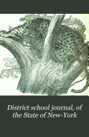 District School Journal, of the State of New-York