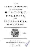 The Annual Register Book