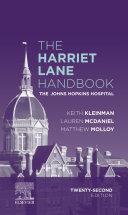 The Harriet Lane Handbook E Book