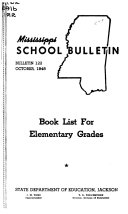 Mississippi School Bulletin