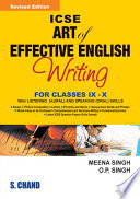 ICSE Art Of Effective English Writing Class IX And X