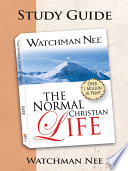 The Normal Christian Life Study Guide Book