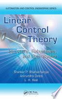 Linear Control Theory Book PDF