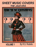 Sheet Music Covers Volume 1 Coffee Table Book