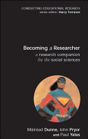 Becoming A Researcher  A Research Companion For The Social Sciences