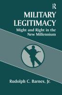 Military Legitimacy Pdf/ePub eBook
