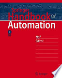 Springer Handbook Of Automation Book PDF