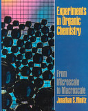 Experiments in Organic Chemistry Book