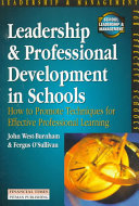 Leadership And Professional Development In Schools