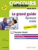 Concours Infirmier 2018-2019 Épreuve orale Le grand guide