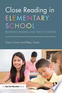 Close Reading in Elementary School