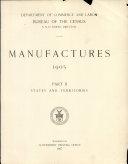 Manufactures, 1905