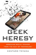 Pdf Geek Heresy