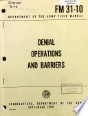 Denial Operations and Barriers