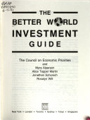 The Better World Investment Guide