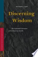 Discerning Wisdom Book