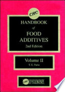 CRC Handbook Of Food Additives  Second Edition
