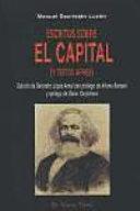 """Escritos sobre """"El Capital"""" (y textos afines)"""