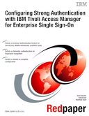 Configuring Strong Authentication with IBM Tivoli Access Manager for Enterprise Single Sign On