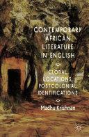 Contemporary African Literature in English Pdf/ePub eBook