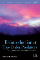 Reintroduction of Top-Order Predators