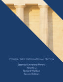 Essential University Physics  Pearson New International Edition Book