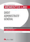 Mémentos LMD - Droit administratif général 2016-2017