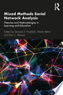 Mixed Methods Social Network Analysis