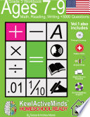 Grade 3  Ages 7 9 Math  Reading  Writing Practice Workbook   Vol1  3000 Questions