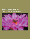 Video Games With Collector S Edition
