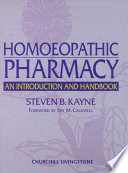 Homoeopathic Pharmacy