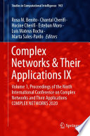 Complex Networks   Their Applications IX