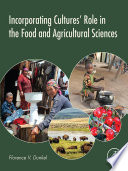 Incorporating Cultures  Role in the Food and Agricultural Sciences Book
