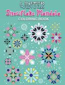 Winter Snowflake Mandala Coloring Book
