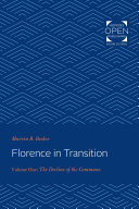 Pdf Florence in Transition Telecharger