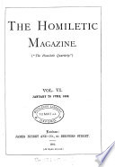 The Homiletic quarterly  afterw   magazine Book