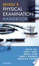 Seidel S Physical Examination Handbook E Book