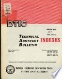 Technical Abstract Bulletin