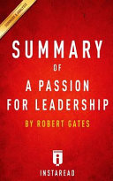 Summary of a Passion for Leadership Book PDF