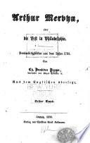 Arthur Mervyn, oder, Die Pest in Philadelphia