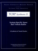 System-specific Spare Rail Vehicle Ratios