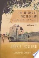 The Origins of Western Law